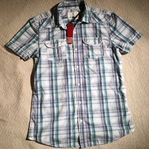 Men's Jeans By Buffalo Plaid Shirt Size Small NWT